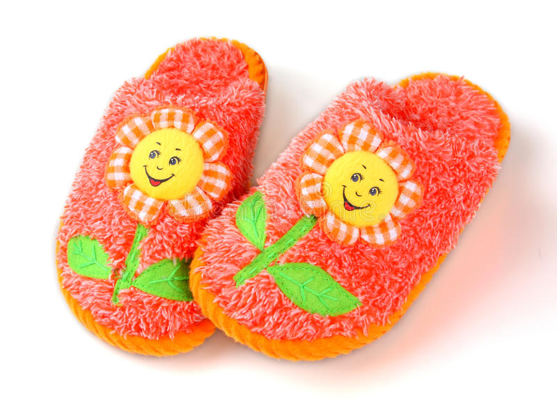 Mooie pantoffels royalty-vrije stock afbeelding