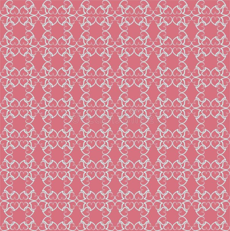 Mooie patroonliefde vector illustratie