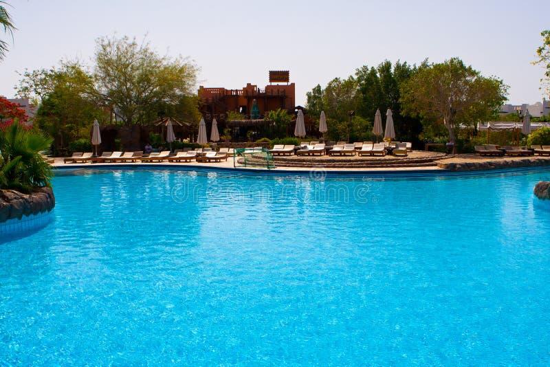 Mooie pool royalty-vrije stock foto