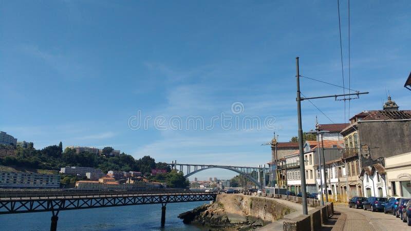 Mooie Porto mening royalty-vrije stock afbeeldingen