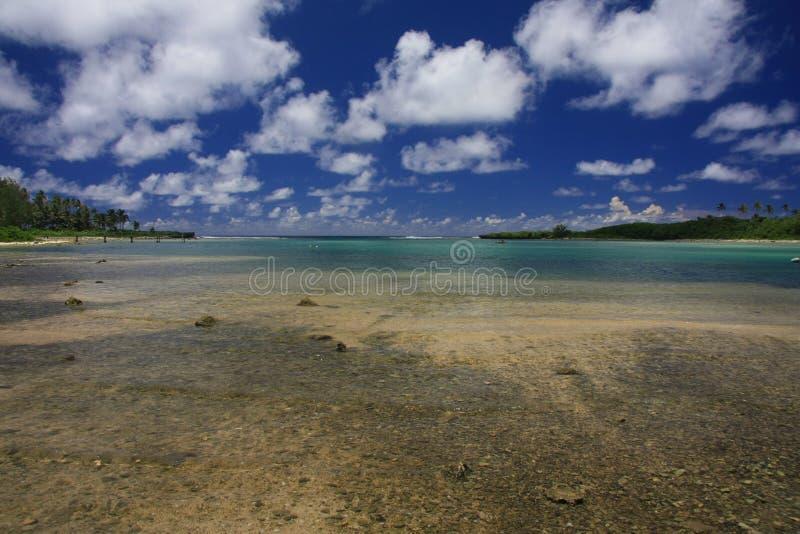 Mooie Raritonga royalty-vrije stock afbeeldingen