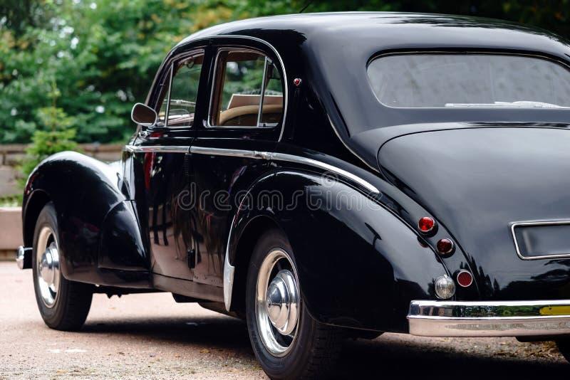 Mooie retro auto Elegantie en stijl van eerste deel van XX cen royalty-vrije stock afbeeldingen