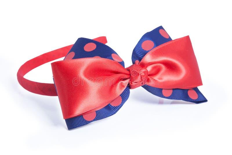 Mooie rode haarspeld royalty-vrije stock foto