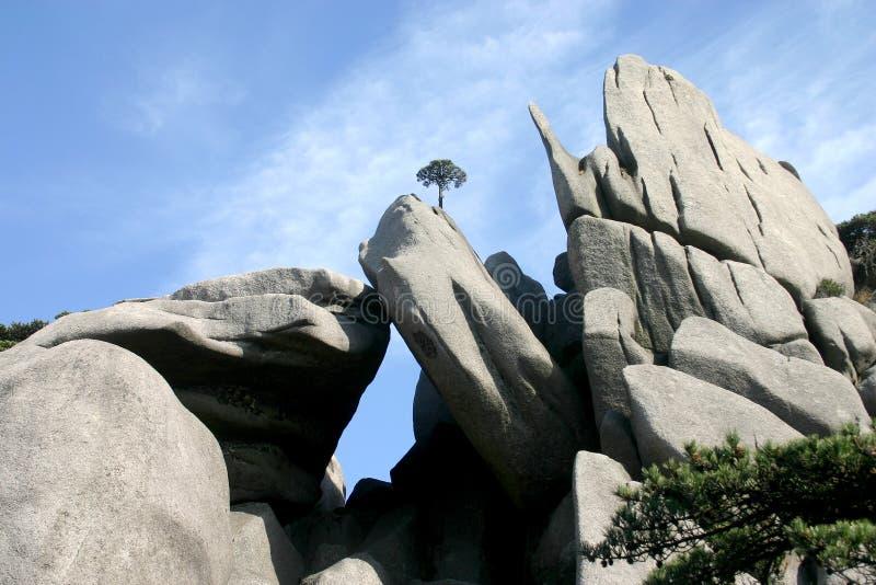 Mooie rotsvormingen royalty-vrije stock afbeeldingen