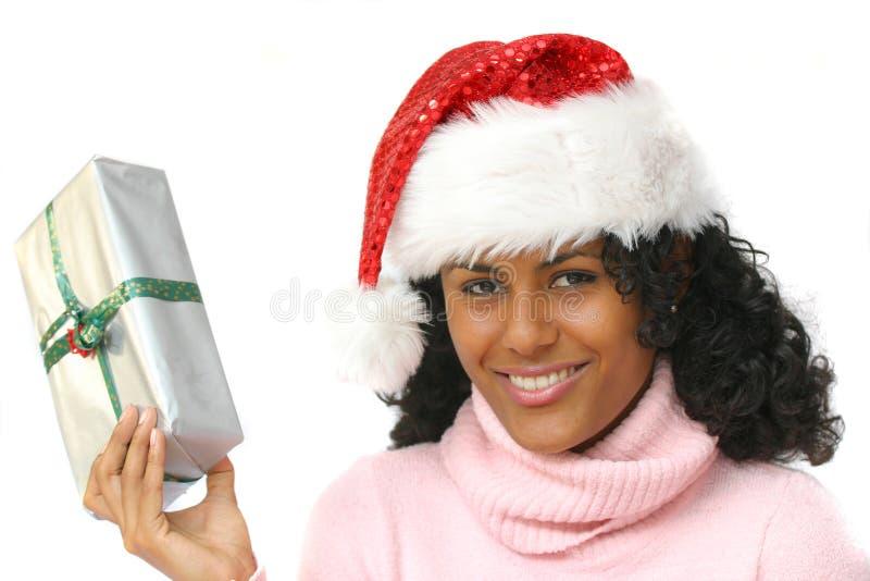 Mooie santa stock afbeelding