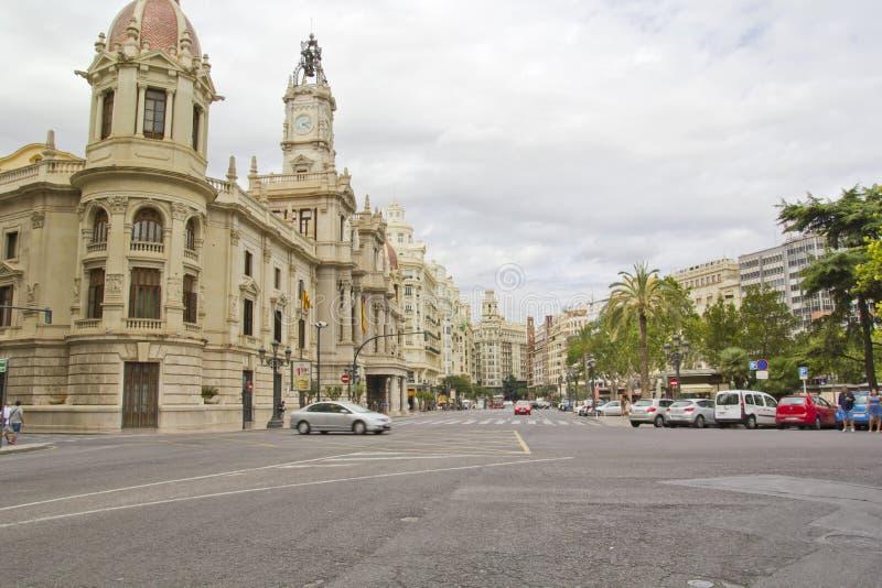 Mooie Scène in Valencia, Spanje royalty-vrije stock foto