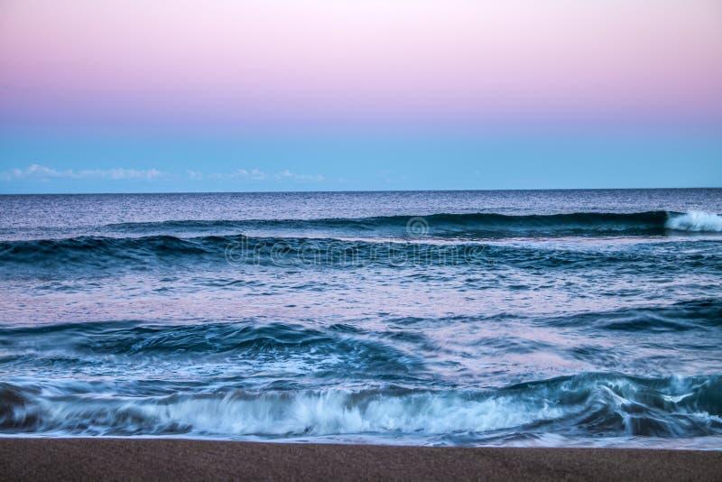 Mooie scène van Oceaan royalty-vrije stock afbeelding