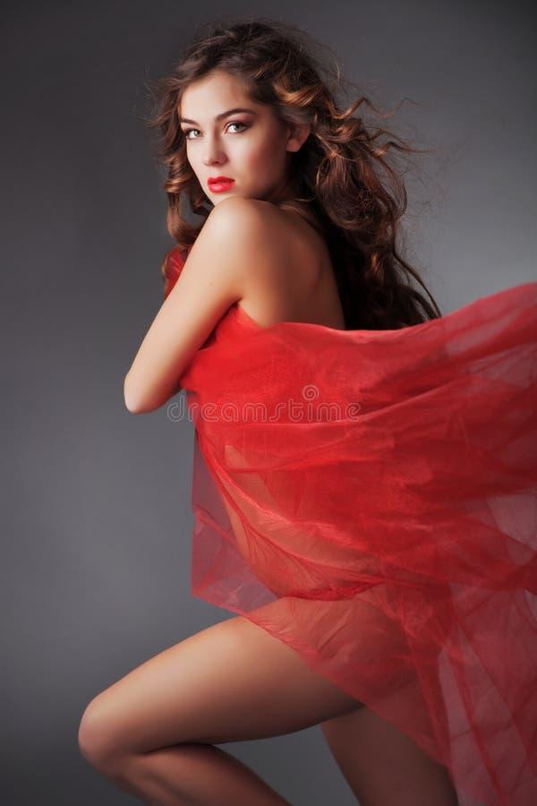 Mooie sexy vrouw royalty-vrije stock afbeelding
