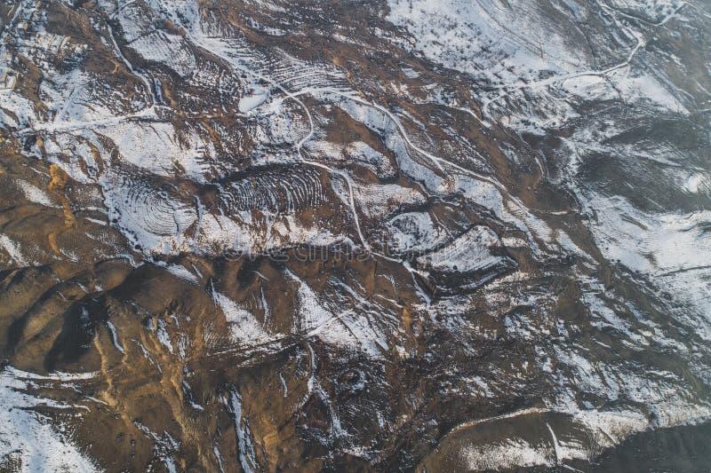 Mooie sneeuwheuvels royalty-vrije stock foto's