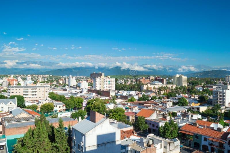 Mooie Stad van Salta Het noorden van Argentinië stock afbeeldingen