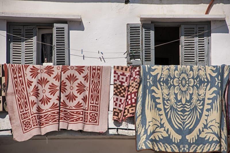 Mooie steden in noordelijk Marokko, Tetouan royalty-vrije stock foto's