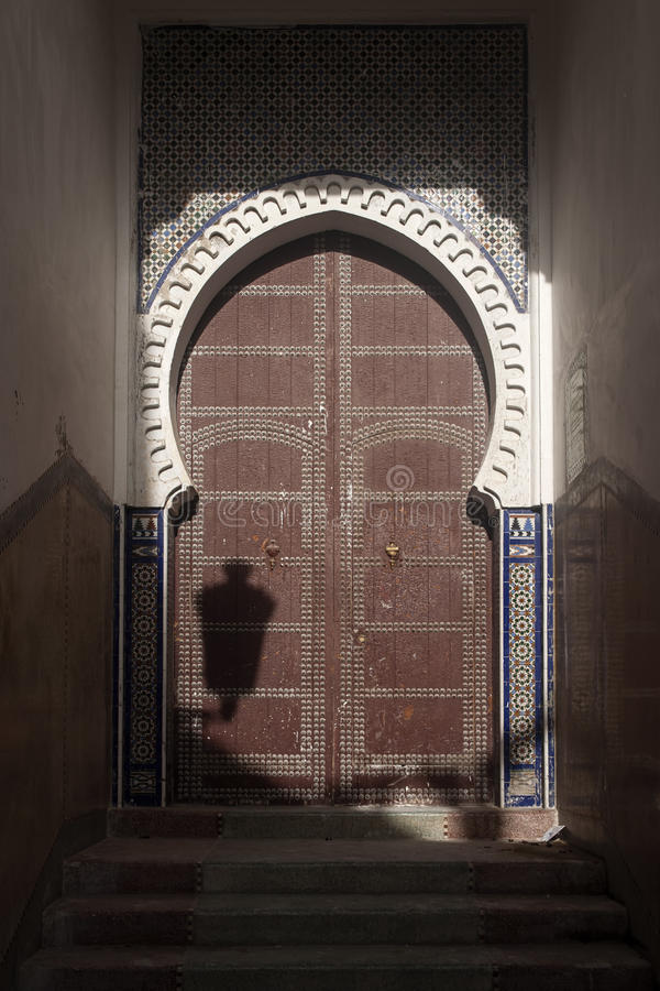 Mooie steden in noordelijk Marokko, Tetouan stock foto