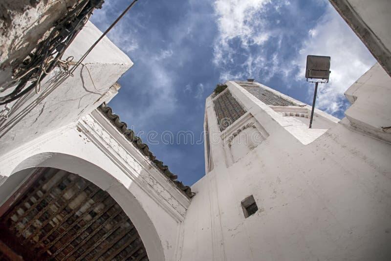Mooie steden in noordelijk Marokko, Tetouan royalty-vrije stock afbeeldingen