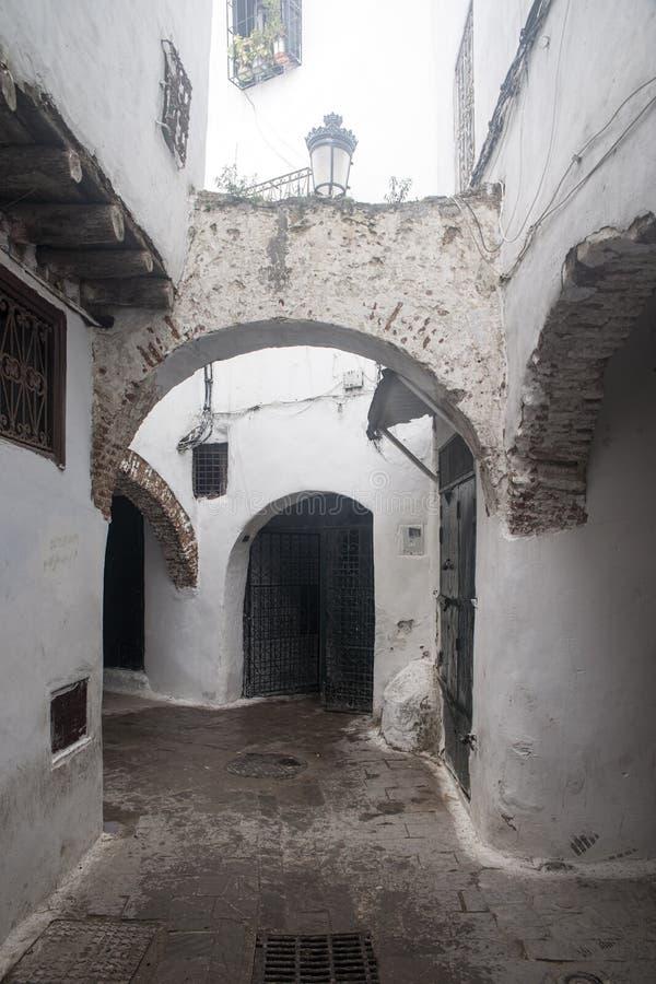 Mooie steden in noordelijk Marokko, Tetouan stock afbeeldingen