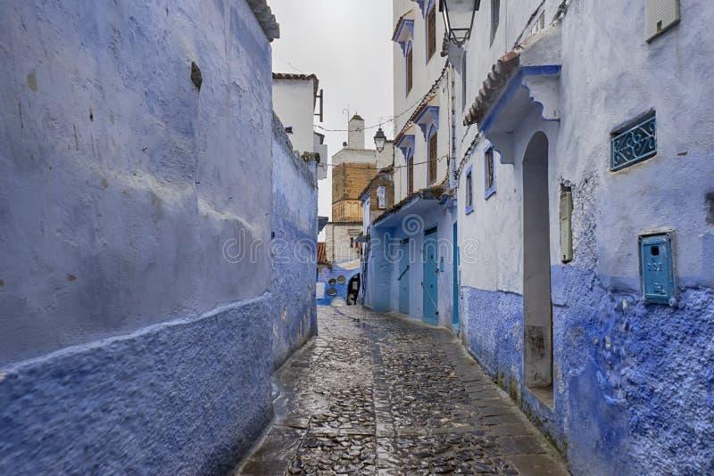 Mooie steden van Marokko, Chefchaouen stock afbeeldingen