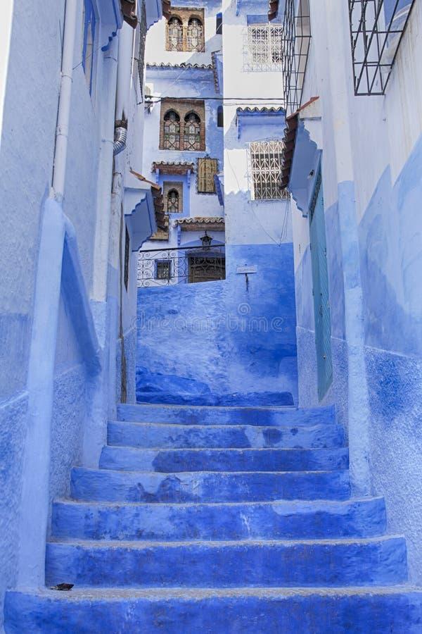 Mooie steden van Marokko, Chefchaouen royalty-vrije stock afbeelding