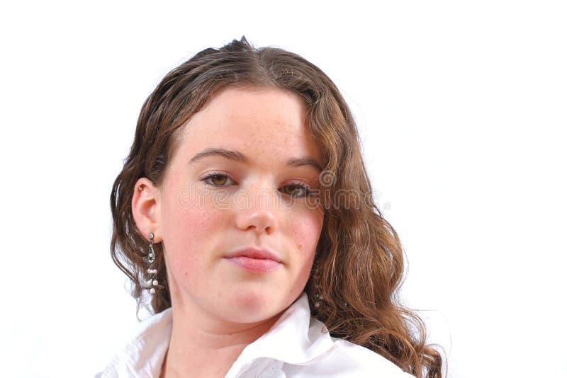 Mooie tiener royalty-vrije stock foto