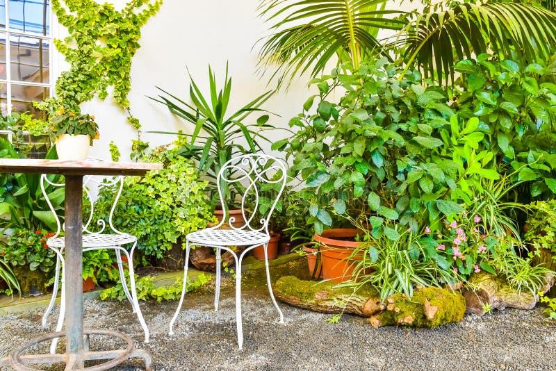 Mooie tuin, Franse stijlunesco, Kvetna Zahrada, Kromeriz, Tsjechische Republiek royalty-vrije stock foto