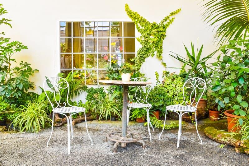 Mooie tuin, Franse stijlunesco, Kvetna Zahrada, Kromeriz, Tsjechische Republiek royalty-vrije stock afbeelding