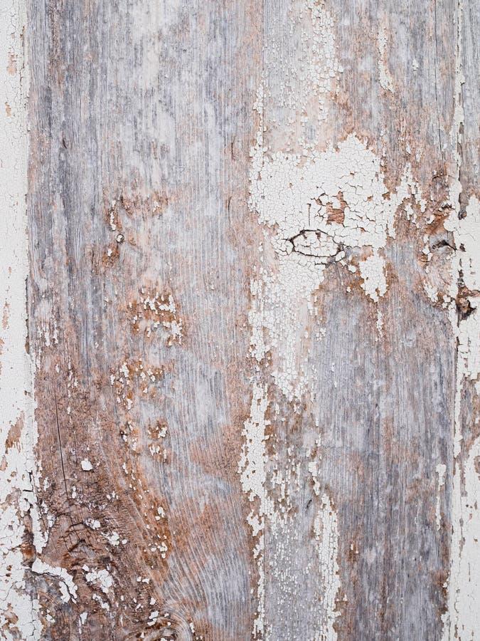 Mooie uitstekende houten achtergrond met gebarsten kleur stock afbeeldingen