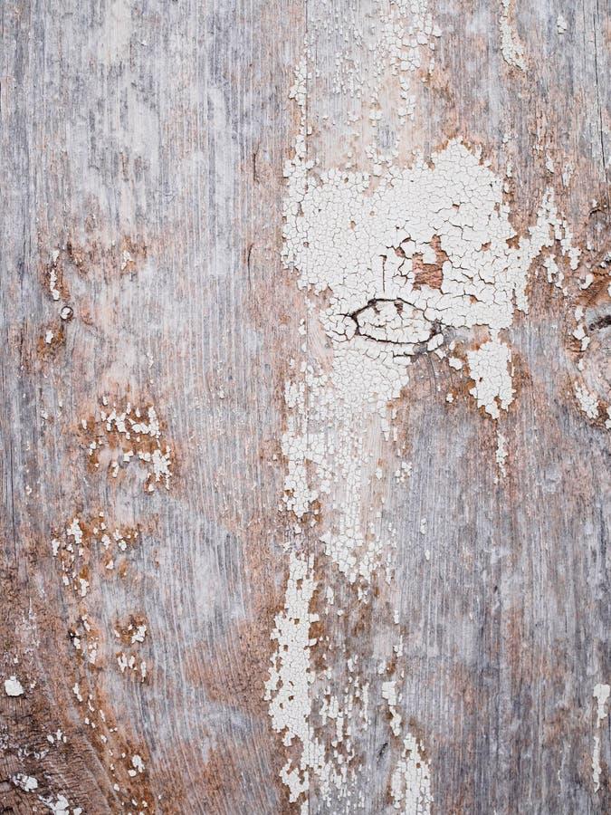 Mooie uitstekende houten achtergrond met gebarsten kleur royalty-vrije stock fotografie