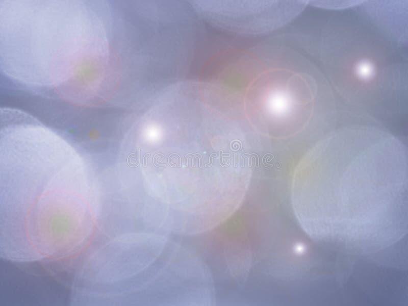 Mooie vage achtergrond van zacht blauw met zachte witte en roze hoogtepunten S vector illustratie