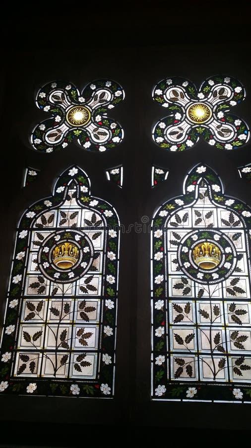 Mooie vensters royalty-vrije stock foto's