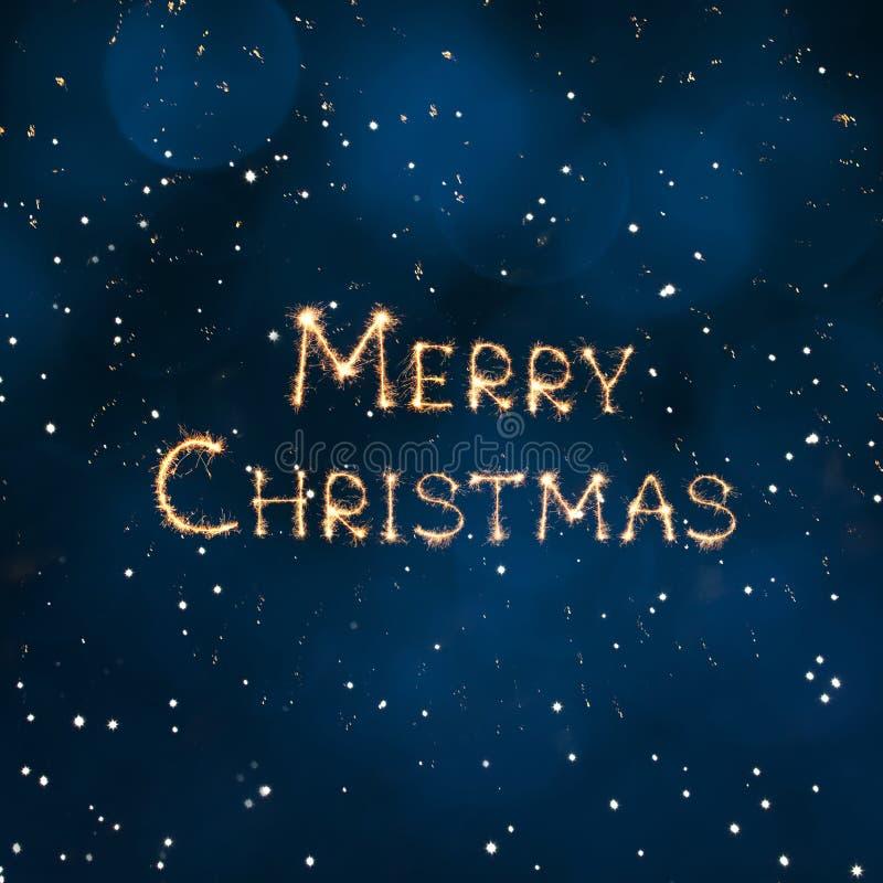 Mooie vierkante de banner Vrolijke Kerstmis van het vakantieweb stock illustratie