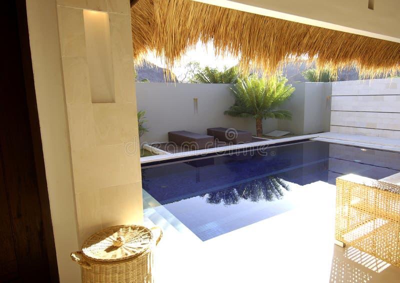 Mooie villa royalty-vrije stock afbeelding