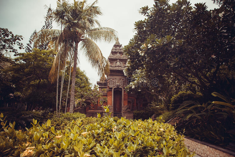 Mooie villa in Kuta royalty-vrije stock foto's