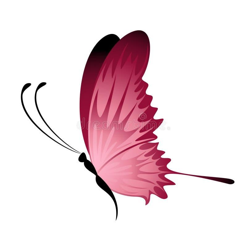 Mooie vlinder vector illustratie