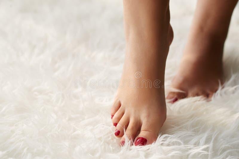 Mooie voeten royalty-vrije stock afbeeldingen