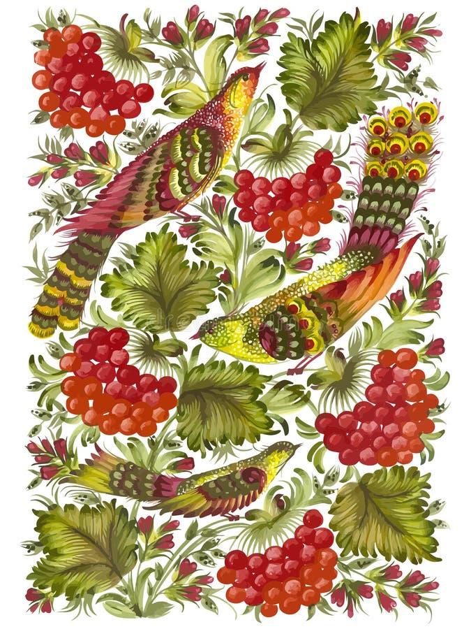 Mooie vogels vector illustratie