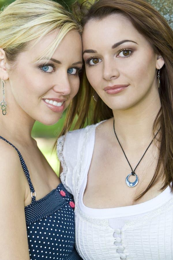 Mooie Vrienden stock foto
