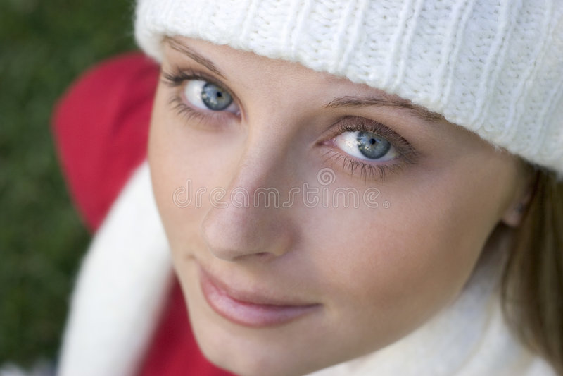 Download Mooie Vrouw stock foto. Afbeelding bestaande uit hoeden - 287594