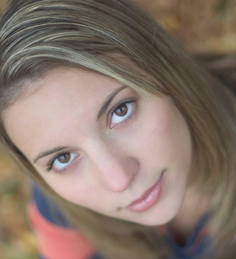 Download Mooie Vrouw stock afbeelding. Afbeelding bestaande uit ogen - 44975
