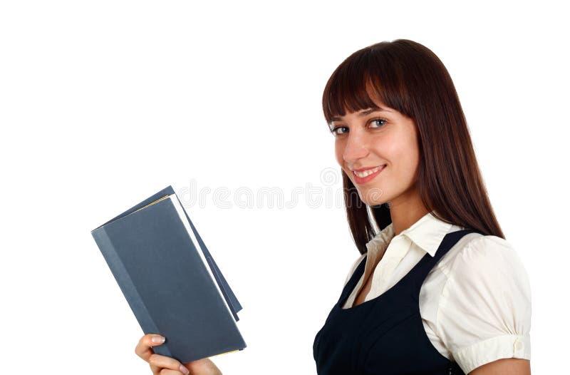 Mooie vrouwenlezing stock foto