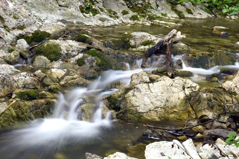 Mooie waterval stock fotografie