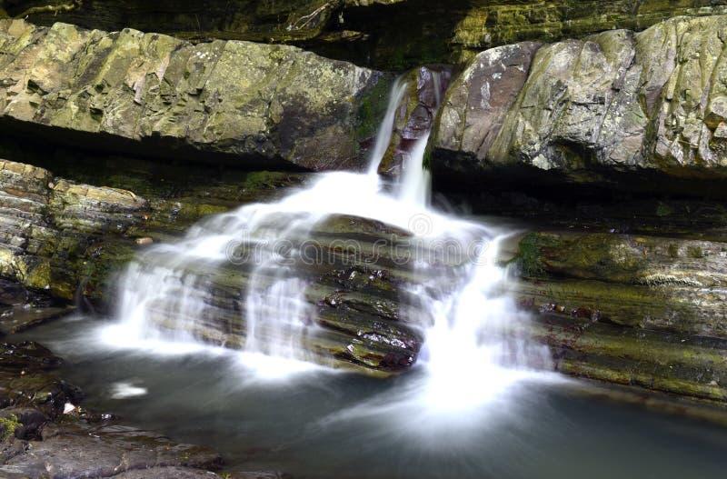 Mooie waterval royalty-vrije stock foto