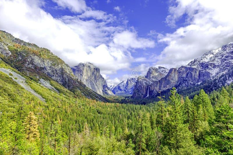 Mooie Yosemite royalty-vrije stock afbeeldingen