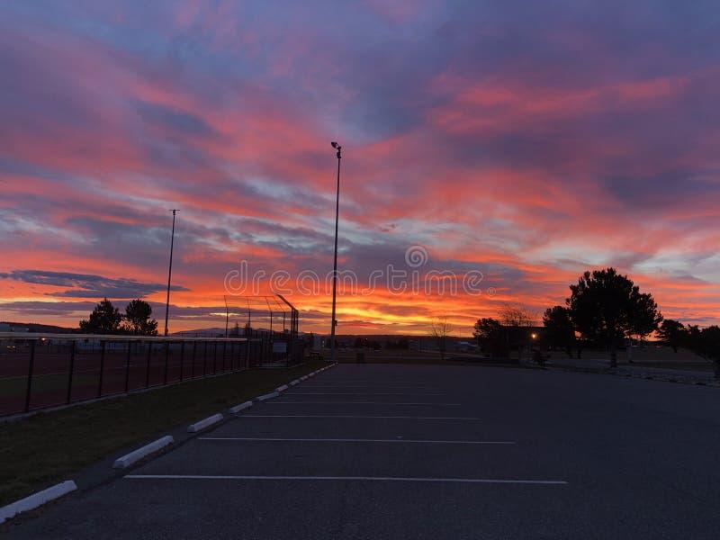 Mooie zonsopgang royalty-vrije stock foto's