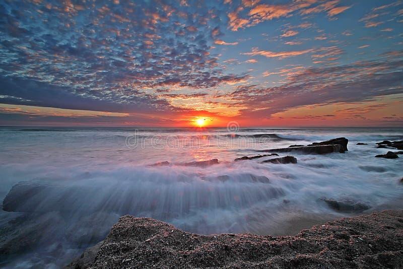 Mooie zonsopgang stock afbeelding