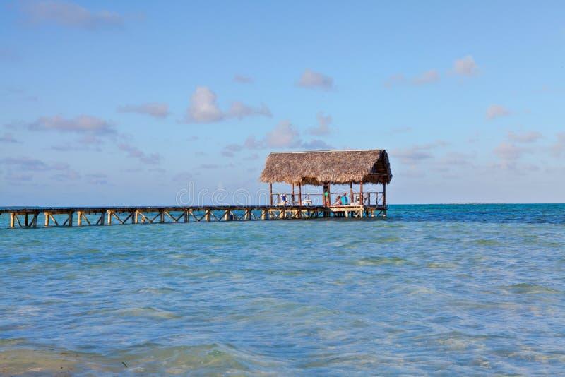 Mooiste Strand Cuba, Jardines del Rey stock afbeeldingen