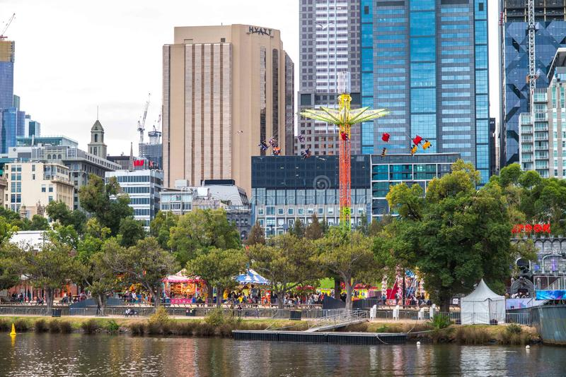 Moomba Festival Melbourne, Australia. The Moomba Festival is Australias longest running community festival. Held along Yarra River, it attracts 1.25 million royalty free stock photos