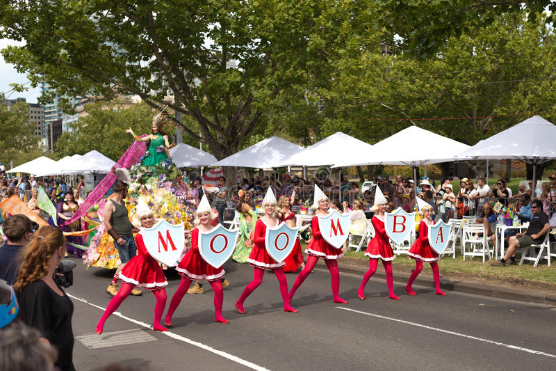 Moomba Parade 2014 royalty free stock photo