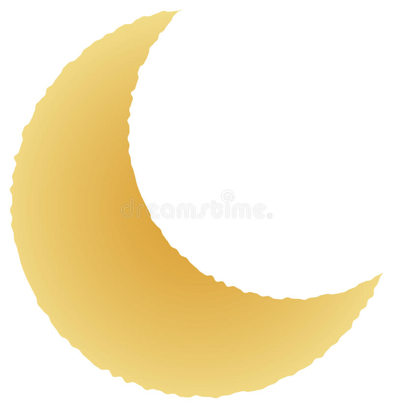 Moon vector illustration