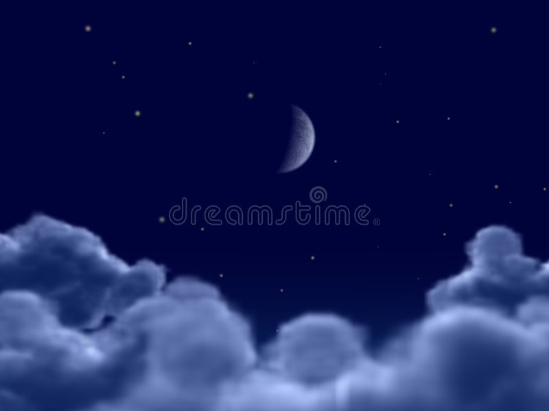 Moon royalty free illustration