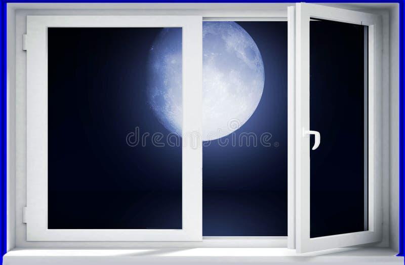 moon vektor illustrationer