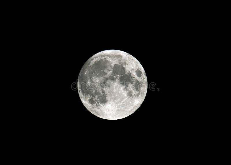 Download Moon stock photo. Image of bright, whole, astrology, nasa - 17487428
