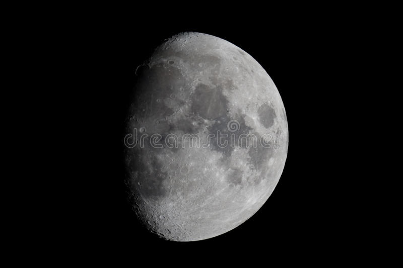 The Moon royalty free stock photography